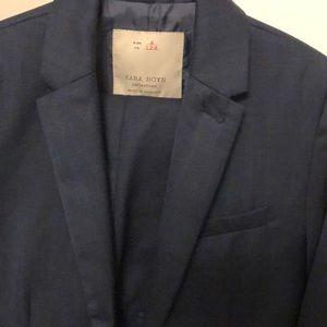 Zara Boys Collection Navy Suit